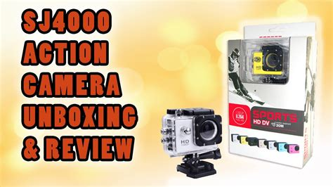 sj4000 hd review unboxing 4k