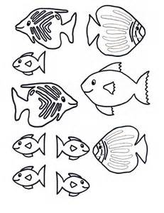 small fish templates underwater fish craft for craft n home