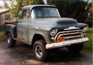 1957 Chevy Truck Wheels For Sale The History Of Gm Napco Trucks