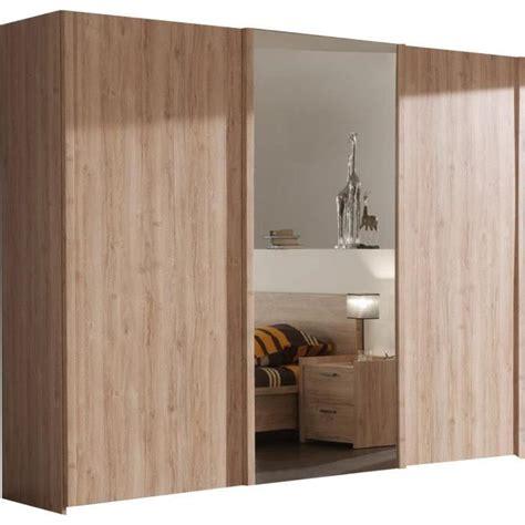 Porte De Chambre Design by Armoire Chambre Porte Coulissante Avec Miroir Bois Design