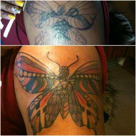 tattoo cover up butterfly 17 best images about cover up tattoos on pinterest