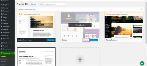 design themes support spa lab theme installation via ftp support designthemes