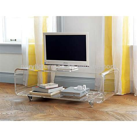acrylic side table with wheels acrylic console table with wheels lucite tv table perspex