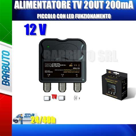 alimentatori per antenne tv mini alimentatore tv per lificatore antenna terrestre