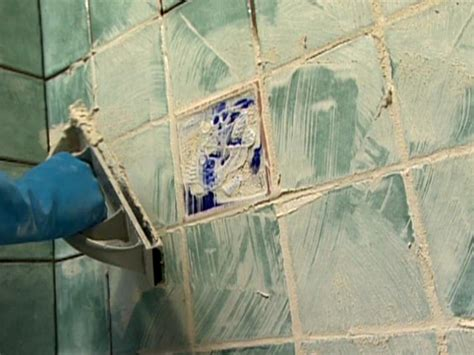 Drying Grout For Showers by Grouting Tile How Tos Diy