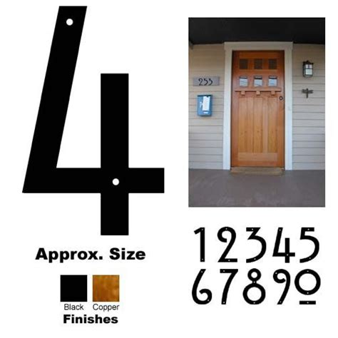 craftsman house numbers 1000 ideas about house numbers on pinterest address numbers diy house numbers and