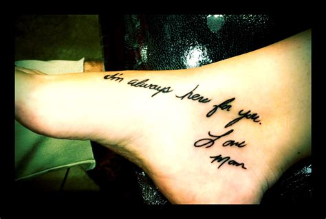 mom memorial tattoo quotes for memorial quotesgram
