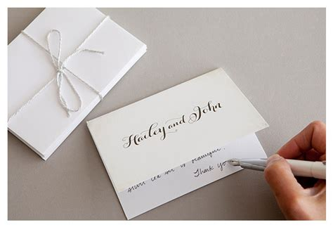 thank you notes for wedding gifts etiquette wedding thank you etiquette 101 everafterguide