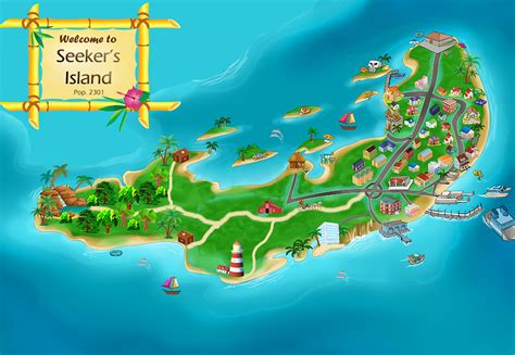 island map image gallery island map