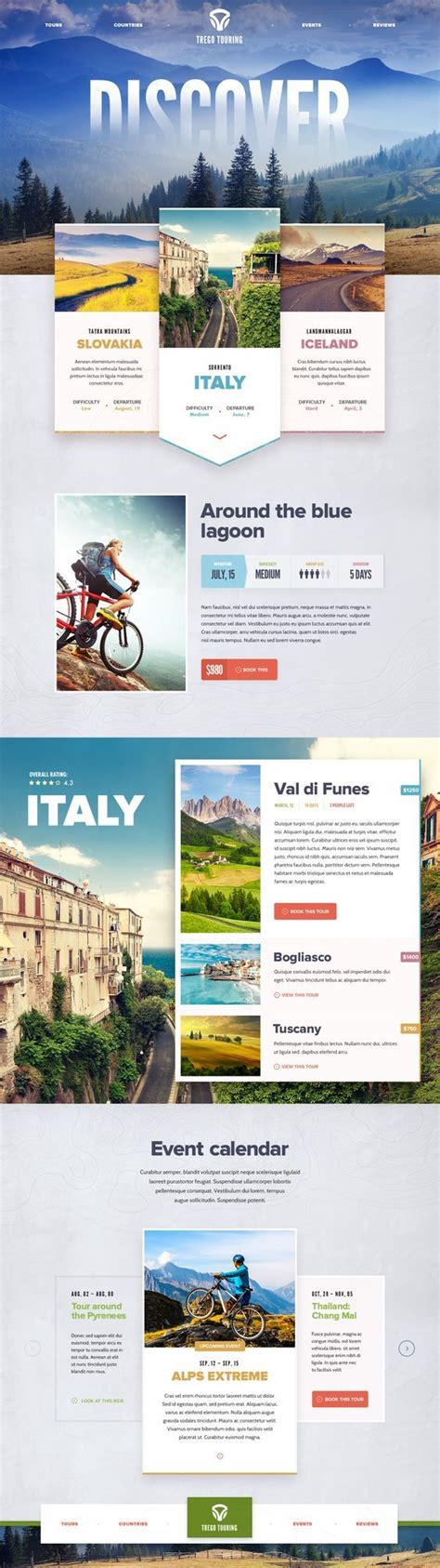 homepage design concepts 25 beautiful travel website design ideas on pinterest travel website templates webpage