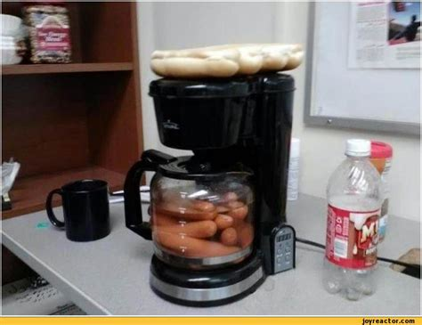 Coffee Maker Kris sausages things that fizz stuff