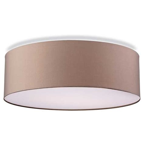 Drum L Shade With Diffuser by Fabric Flush Drum Shade With Diffuser