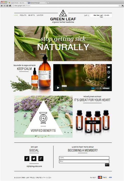 Blog wix templates download