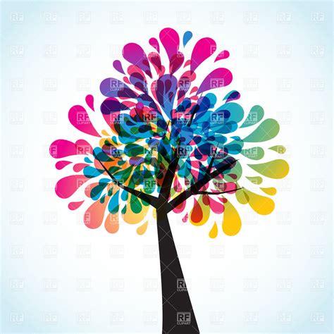creative clipart creative motley tree royalty free vector clip image