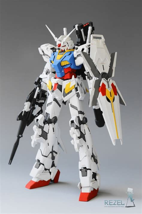 Raglan Gundam Gundam Logo 03 mg 1 100 unicorn gundam rx 78 2 colors painted build