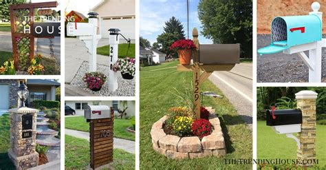 adorable mailbox ideas   give  guests