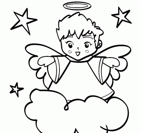 boy angel coloring page angel coloring pages to print az coloring pages