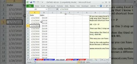 how to do a pivot table in excel how to do 2 pivot tables w different date groupings in