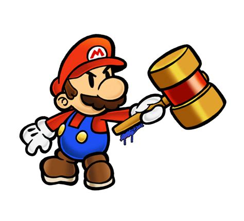 How To Make Paper Mario - quot thinner character bigger appeal quot paper mario for ssb4