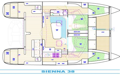 catamaran boat layout catamaran charters boat layout
