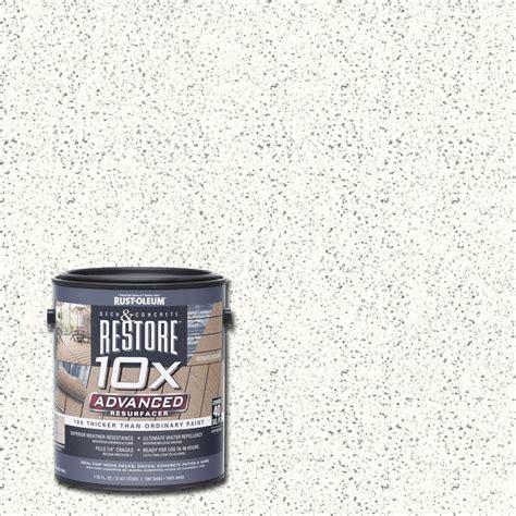 Restore Deck Liquid Armor Resurfacer by Rust Oleum Restore 4 Gal White Waterproofing Liquid