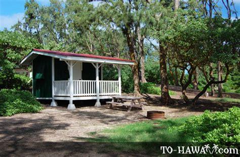 oahu cing malaekahana cground to hawaii