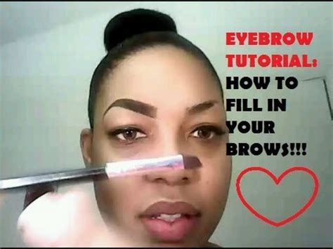 proper way to fill in eyebrows perfect eyebrow tutorial how to shape fill in brows