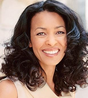 Long Layers With Lots Of Volume For Women In Their 40s Mature African American Woman Hairstyle