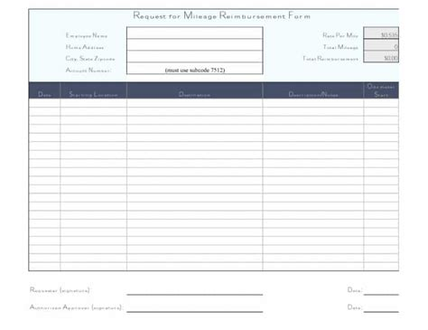 reimbursement form template word free reimbursement form templates word excel pdf