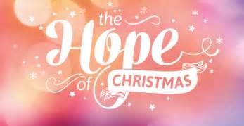 the hope of christmas hope 103 2