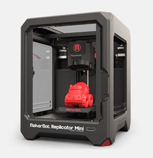 makerbot replicator mini 3d printer it asset management