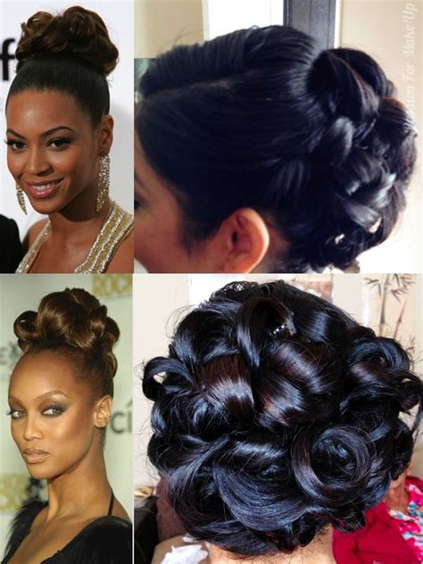 Beyonce Pin Up Hairstyles by 17 Best Ideas About Pin Curl Updo On Hair Updo