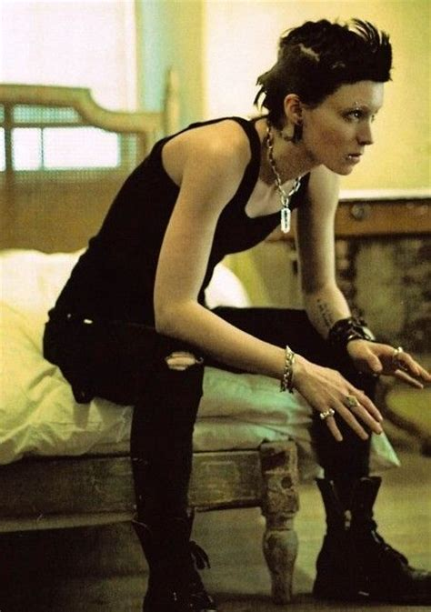 dragon tattoo lady movie lisbeth salander girl with the dragon tattoo costume and