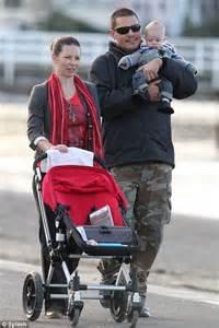 evangeline lilly takes baby son zealand prepares film hobbit daily