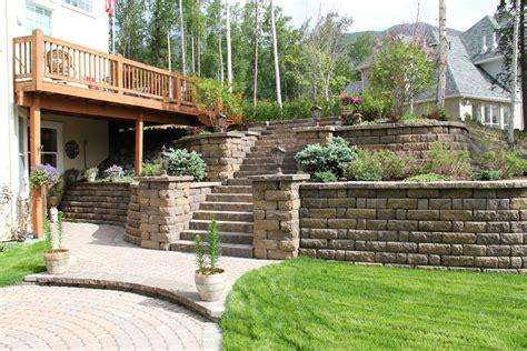 retaining walls landscape design construction