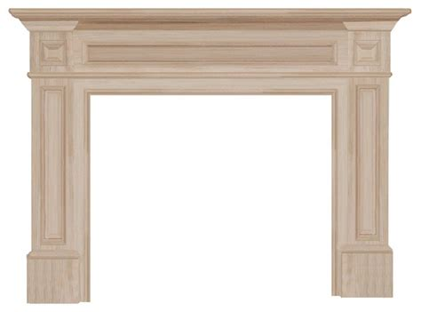 the classique fireplace surround unfinished 50
