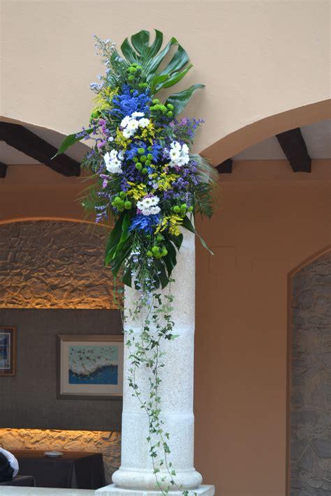 decorar la boda decoraci 243 n de nuestras columnas para la ceremonia boda