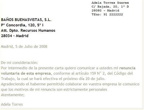 renuncia empleada domestica en mexico pin de renuncia carta tipo un rotario on pinterest carta