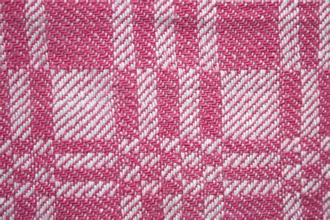 pink pattern fabric pink and white woven fabric texture with squares pattern