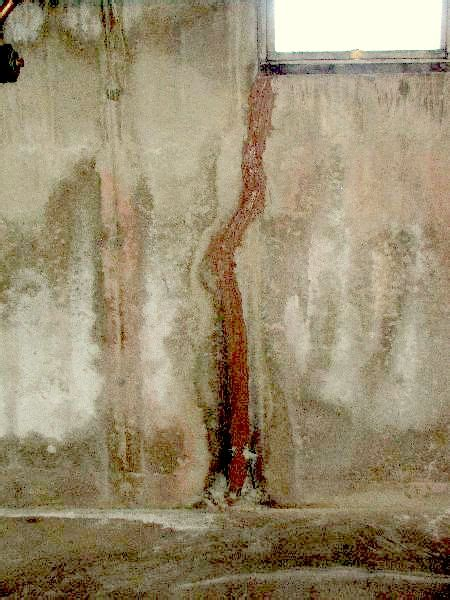 basement walls leaking basement leak repair epoxy concrete 603 435 7199 waterproof