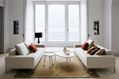 divano zanotta come arredare un salotto 7 soluzioni per lo stesso ambiente