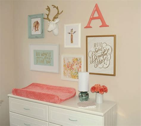 mint and coral home decor best 25 mint coral ideas on pinterest girl nursery