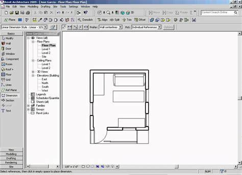 revit floor plans floor plan revit step 9 0 youtube