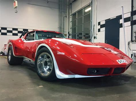 corvette museum featuring two new corvette racers in the