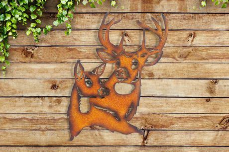 walmart decorative deer outdoor sunjoy reindeer wall d outdoor d 233 cor walmart canada