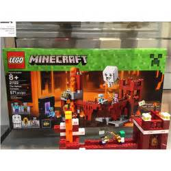 lego minecraft the nether fortress set review pictures