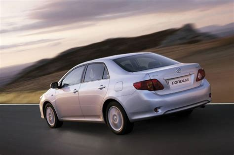 Toyota Corolla Lease Zero Toyota Corolla 2 0 2007 Technical Specifications