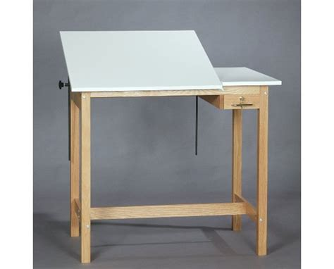 Split Drafting Table Smi Pacific Split Top Oak Wood Drafting Table U2436 30sta Tiger Supplies