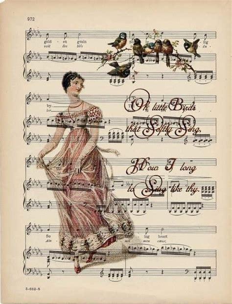 imagenes vintage musicales partituras con fondos rom 225 nticos para imprimir gratis