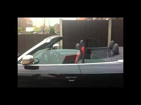 Audi S5 Probleme by Audi S5 Cabriolet Smarttop With Window Problem Youtube
